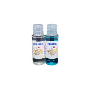 Botella gel hidroalcoholico